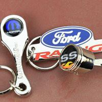 GM Buick Emblem Logo Muscle Car Key Fob Echt Leder Schlüsselanhänger Anhänger